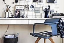 Workstations / Stylish workstations, desks and organisation ideas.