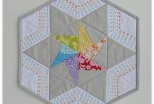 Different Shaped  Mini Quilts