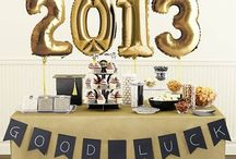Grad party decoration
