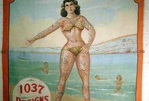 affiches cirque & freakshow