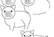 Cartoons animais - como desenhar