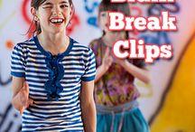 Break clips and activities