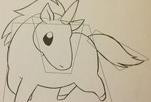 licornes comment les dessiner