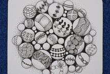 Zentangle me! / Zentangle all day long / by Kathleen Pittaluga