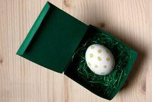 DIY: Ostergruß selbst basteln / Ei statt Karte: Mit ein bisschen Geschick kann man seinen Lieben einen ganz besonderen Ostergruß basteln. Immonet zeigt, wie es geht.  / by Immonet