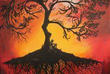 Creative -Tree Drawings