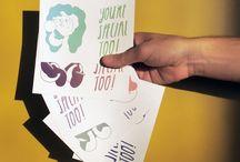 Ansichtkaarten / ansichtkaarten,illustratie,grafische vormgeving