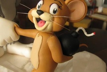 Tom a Jerry z fondánu