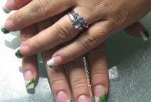 St. Patrick's Day Nails / Nails inspired by Green