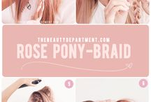 hairstyle - tutorials - inspiration