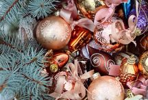 Christmas - Pastel Baubles / by Jacqueline Griffin