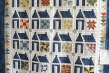Schoolhouse/house Quilts