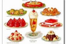 Heerlijke dingen / Allemaal lekkere hapjes, eten, snoep, koek, taart, ijs, desserts, etc.