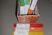 Classroom/Preschool Ideas