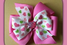 Hair Bows From My Etsy Account