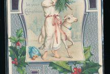 Weihnachtspostkarten/christmas postcards