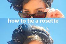 как завязать платки, шарфы