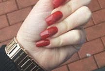 Kristýna / Red nails