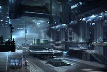 sci fi environments