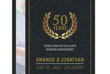 50th Golden Wedding Anniversary Suite