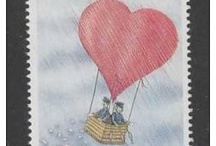 TIMBRES/STAMPS montgolfiere