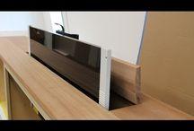 tv meubel met lift