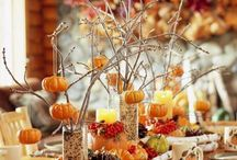 Thanksgiving Tablescapes / Ideas on how to dress up your Thanksgiving dinner table / by Rachel Matos