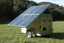solar - 独立型・オフグリッド / 蓄電や直接利用する独立型システム。系統、商用電源に繋いでいない