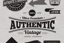 Authentic logos, badges and marks
