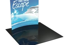 Custom Exhibit and Display Products / Our custom exhibit and display products are the perfect graphic solution for your next trade show or convention.