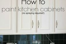 DIY Cabinet Painting / Cabinet Painting Tips