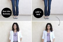 How to dress/style for apple shapes