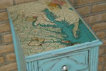 WORLD MAP CRAFTS