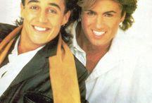 George Michael and Andrew Ridgeley ♥