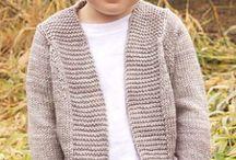 detské pletené svetre