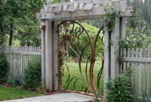 Seattle Garden Structures / Arbors, trellises, and other garden structures.