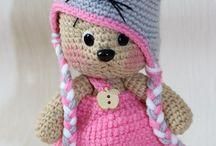 crochet hats - kids