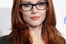 Beauty In Glasses.
