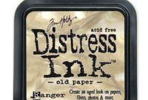 Mijn Distress Inkt