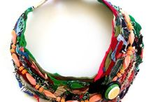 fibre art jewelery