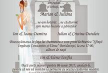 Invitatii nunta handmade / Invitatii nunta handmade, personalizate create impreuna cu mirii - handmade wedding invitations
