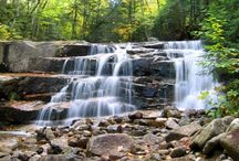 Springtime in NH / Nothing is more refreshing than springtime in New Hampshire when the ground begins to thaw and the temperature slowly starts to rise. Grab the kids and get outside for a family friendly day hike, and be sure to track down a waterfall on your way to the peak!