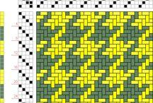 Weaving draft patterns