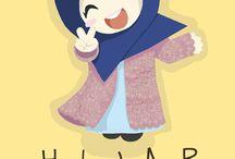 hijab word