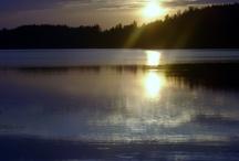 Matkalla jossain päin Suomea.