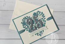Wedding / Anniversary Cards & Gift Ideas / Wedding / Anniversary Cards & Gift Ideas by Queen B Creations Lisa Ann Bernard Independent Stampin' Up! Demonstrator