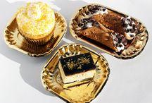 Gold Wedding Dessert Tables