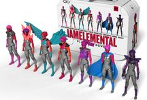 Series 1/Courage Product / IAmElemental envisions play experiences where kids are the creators of their own stories.