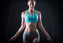 Tangram Smart Rope / Zen and fitness practicing
