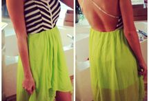 SUMMER FASHION / Outfits for the sunshine! / by Paddy O'Flynn